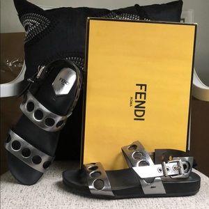 FENDI Ingrid Flat Sandal